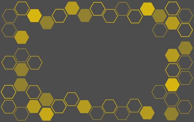 Bienenstock hintergrund Premium Vektoren
