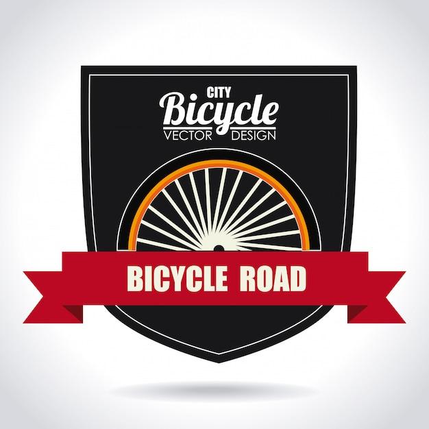 Bike-design Premium Vektoren