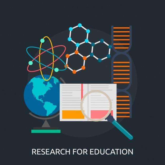 Bildung hintergrund design Kostenlosen Vektoren