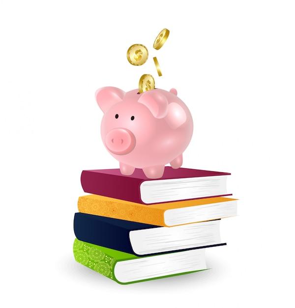 Bildung kostet konzept. Premium Vektoren