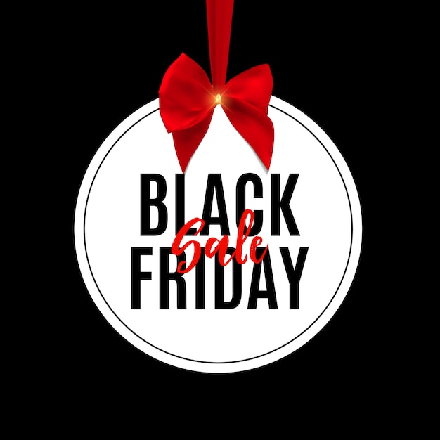 Black friday sale banner vorlage. Premium Vektoren