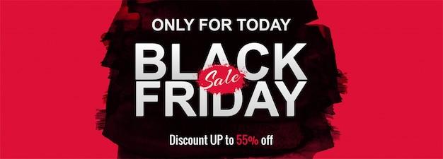 Black friday sale promotion poster oder banner Kostenlosen Vektoren