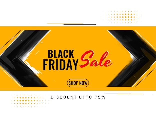 Black friday sale werbung hintergrund Kostenlosen Vektoren