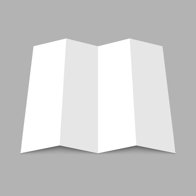 Blankopapier karte Premium Vektoren