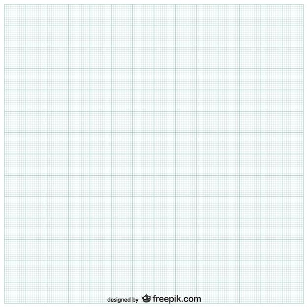 Blatt Papier mit Gitter Kostenlose Vektoren