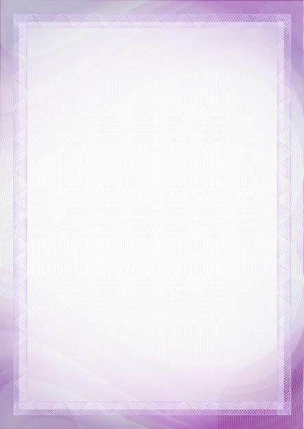 Blatt papier mit purpurroter, violetter farbe für hintergrund Premium Vektoren