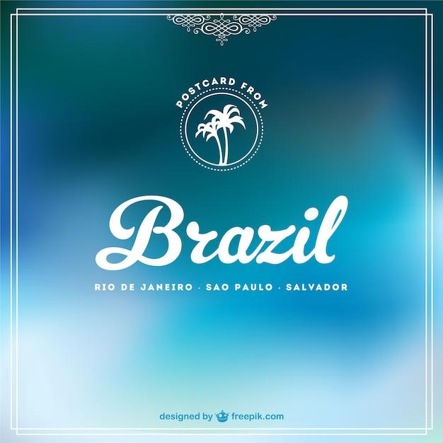 Blau brasilien freien hintergrund Kostenlosen Vektoren