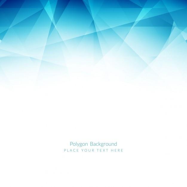 Blau polygonalen hintergrund Kostenlosen Vektoren