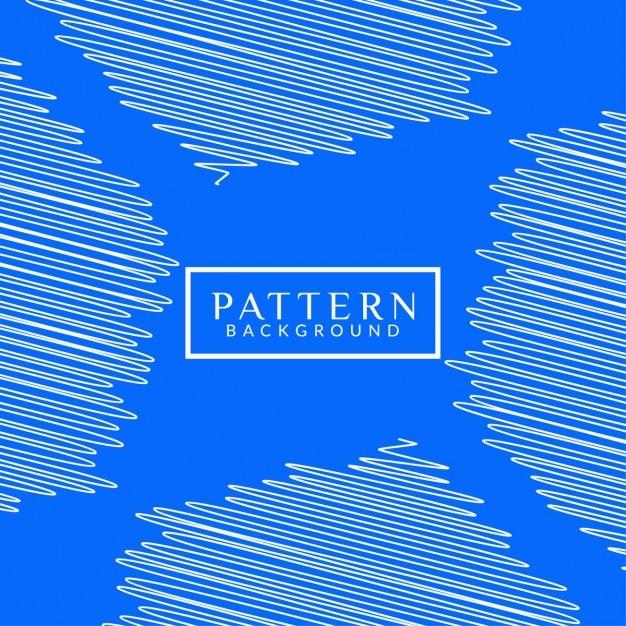 Blaue farbe modernes muster hintergrund Kostenlosen Vektoren