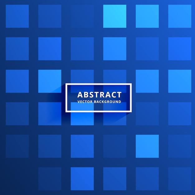 Blaue Fliesen: Blaue Fliesen Muster Vektor Hintergrund