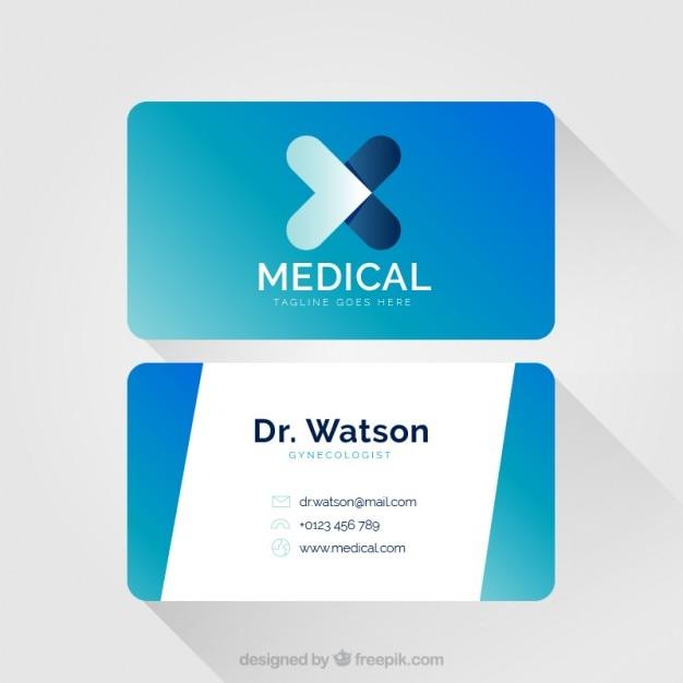 Kreuz Karte.Blaue Medizinische Karte Mit Abstrakten Kreuz Symbol Download Der