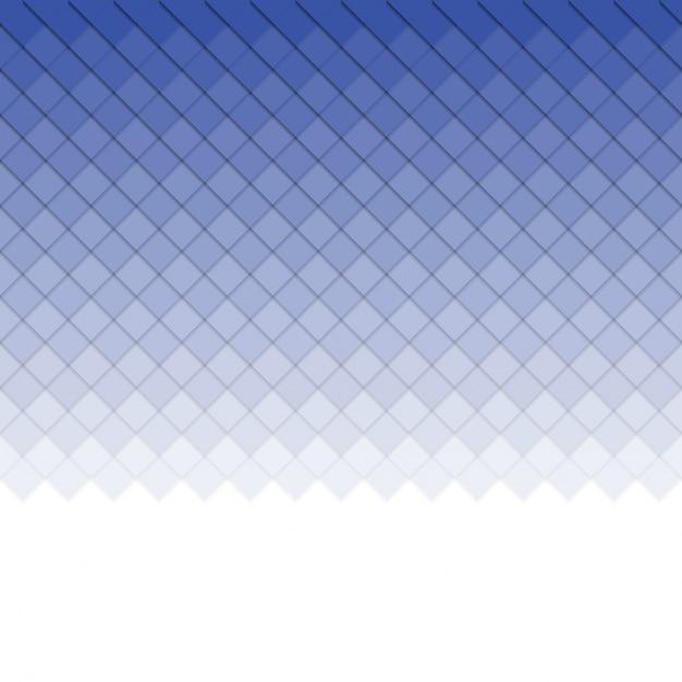 Blaue quadrate hintergrund Premium Vektoren