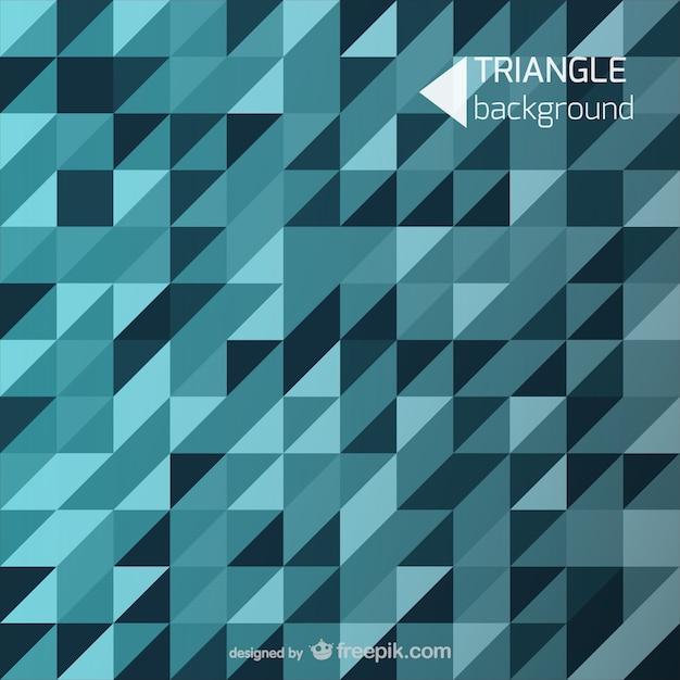 Blauen hintergrund dreieckformen Kostenlosen Vektoren