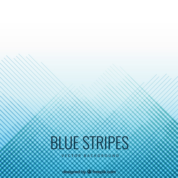 Blauen Streifen Hintergrund Premium Vektoren