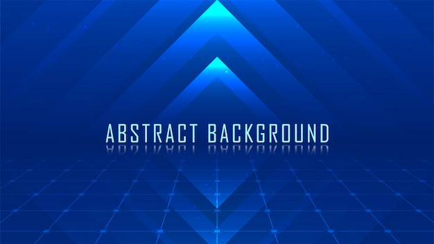 Blauer abstrakter hintergrund Premium Vektoren