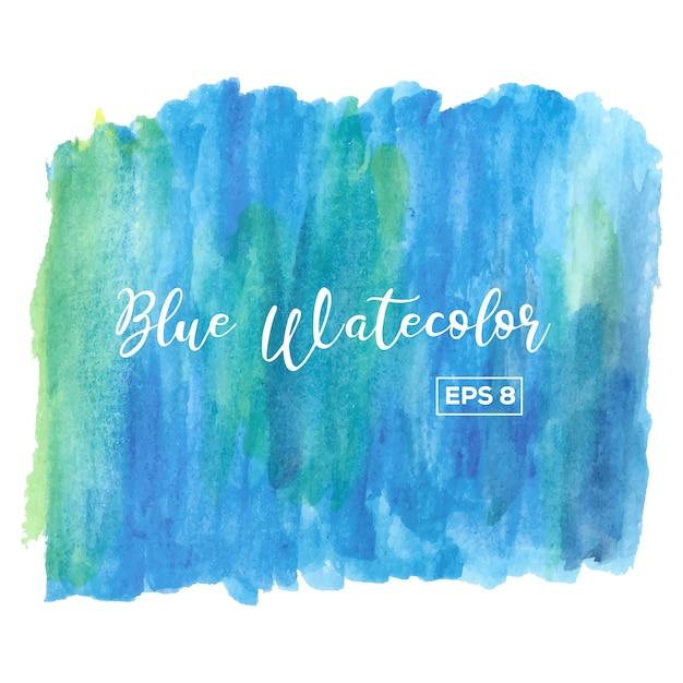 Blauer aquarell hintergrund Kostenlosen Vektoren