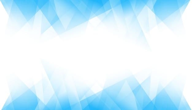 Blauer geometrischer hintergrund Kostenlosen Vektoren