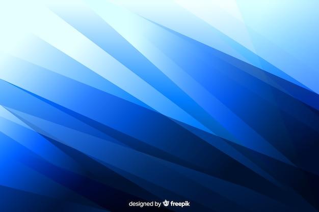 Blauer hintergrund mit abstrakten formen Kostenlosen Vektoren