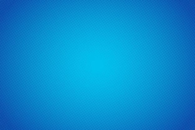 Blauer vektorhintergrund der pop-art-karikatur. abstraktes hintergrundhalbtonpunktdesign. pop-art-illustration. Premium Vektoren