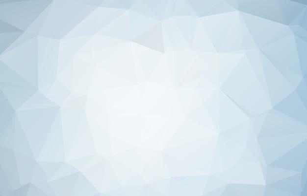 Blauer weißer polygonaler mosaik-hintergrund Premium Vektoren