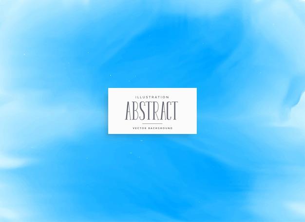 Blaues aquarellbeschaffenheitshintergrunddesign Kostenlosen Vektoren