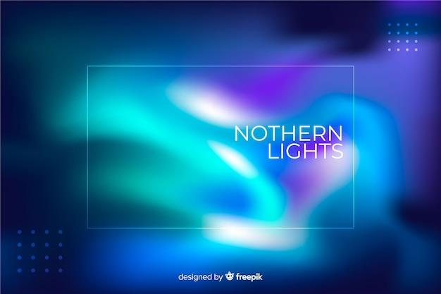 Blaulichter des nordhimmelhintergrundes Kostenlosen Vektoren