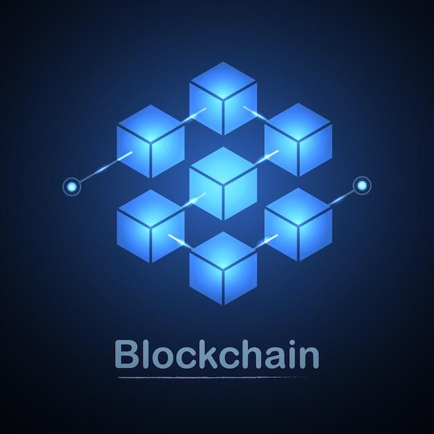 Blockchain-technologie Premium Vektoren