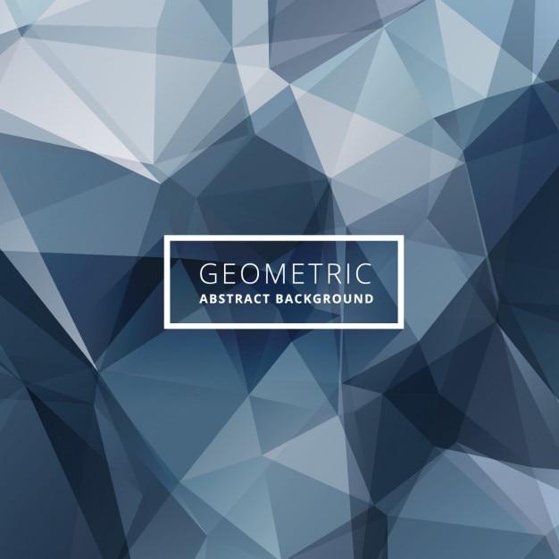 Blue abstract polygonalen hintergrund Kostenlosen Vektoren