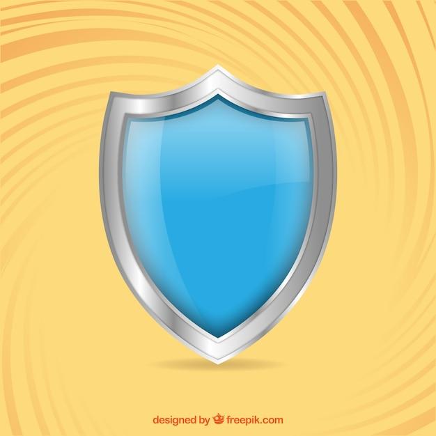 Blue shield Kostenlosen Vektoren