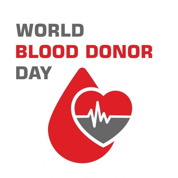 Blutspende tag Kostenlosen Vektoren