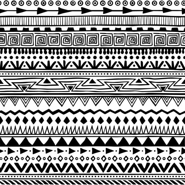 boho stil muster kostenlose vektoren - Boho Muster