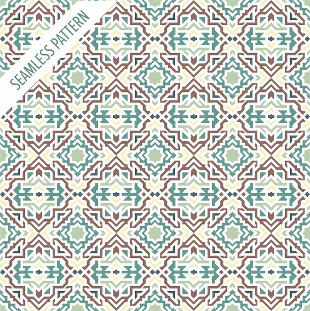 Boho-stil nahtlose vektor-muster. stammes-ethnischen hintergrund. ornament für wallpappers abstrakte geometrische dekor-elemente. Premium Vektoren
