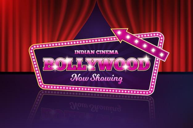 Bollywood kino zeichen realistisch Kostenlosen Vektoren