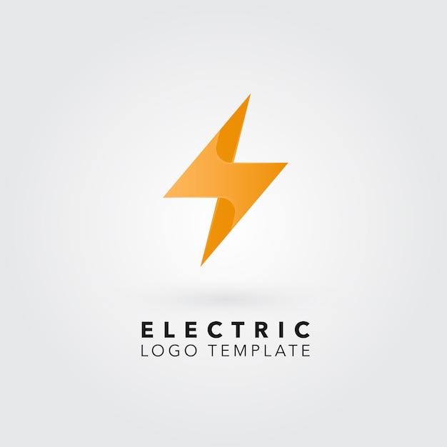 Bolzen-logo-design Kostenlosen Vektoren