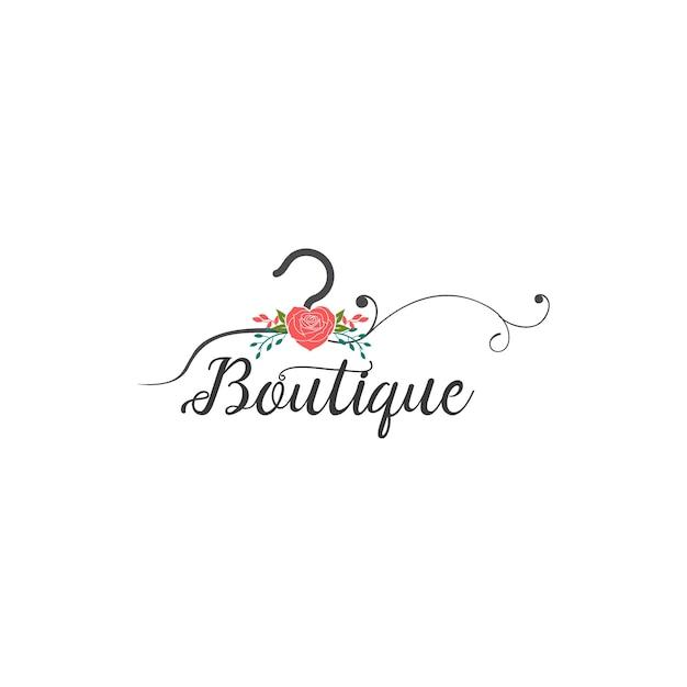 Boutique-logo Premium Vektoren