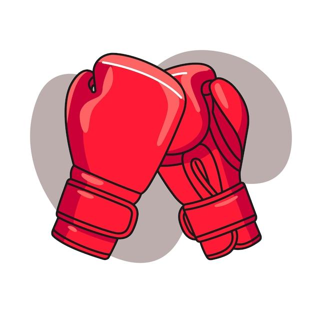 Boxhandschuh illustration Premium Vektoren