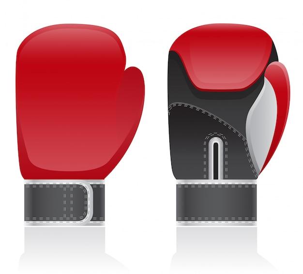 Boxhandschuhe Premium Vektoren