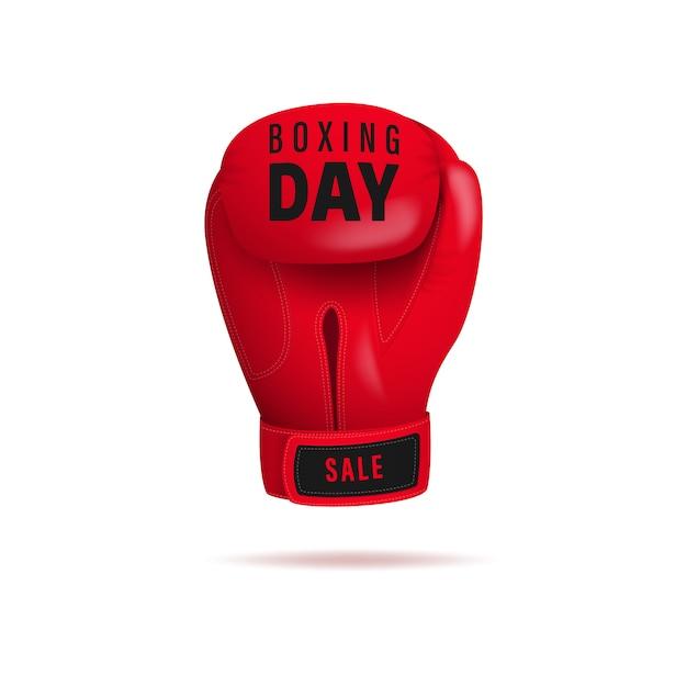 Boxing day einkaufen. Premium Vektoren
