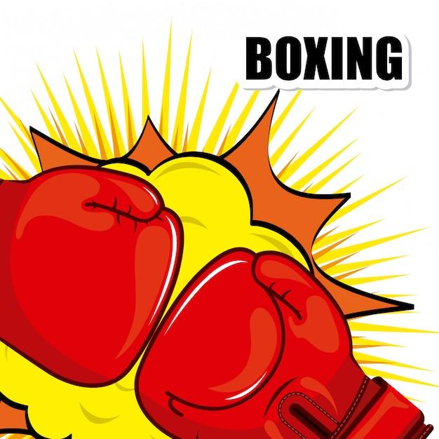 Boxsport Premium Vektoren