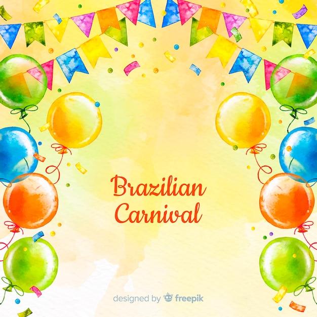 Brasilianischer karneval Kostenlosen Vektoren