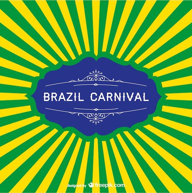 Brasilien karneval hintergrund Kostenlosen Vektoren