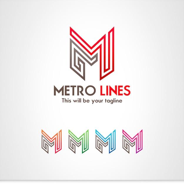 Brief-logo Premium Vektoren