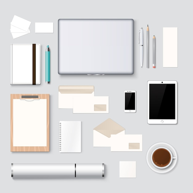 Briefkopf- und webdesignmodell-schablonenhintergrund Premium Vektoren