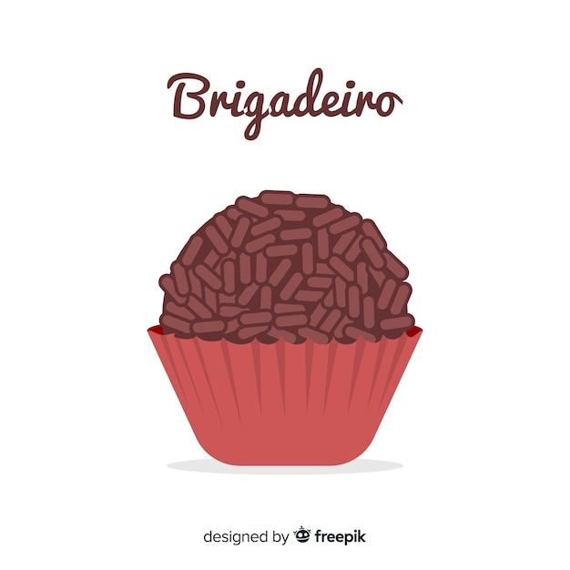 Brigadeiro Kostenlosen Vektoren