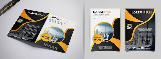 Broschüre designvorlage Premium Vektoren