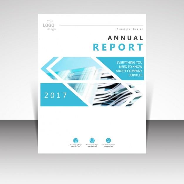 Broschüre template-design Kostenlosen Vektoren