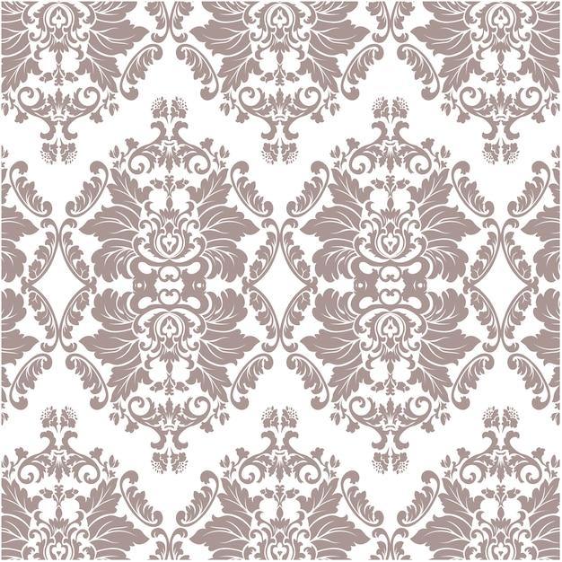 Brown ornamental muster luxus hintergrund Kostenlosen Vektoren