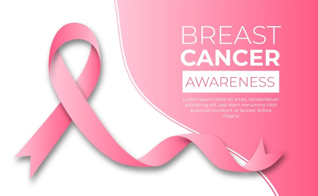 Brustkrebs-bewusstseinsmonatskonzept Kostenlosen Vektoren