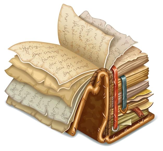 Buch der zaubersprüche und hexerei. Kostenlosen Vektoren