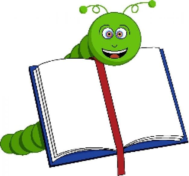 Bücherwurm clipart  Bücherwurm | Download der kostenlosen Vektor